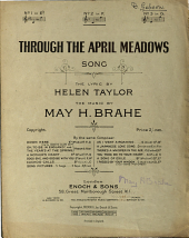 Through the April Meadows: Song