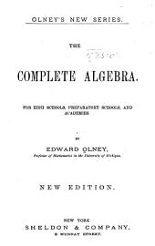 The Complete Algebra ...