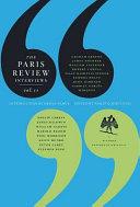 The Paris Review Interviews, II