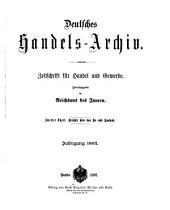 Deutsches Handels-Archiv