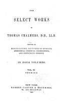 Select Works of Thomas Chalmers PDF