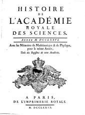 Histoire de l'Académie Royale des Sciences: avec les mémoires de mathématique et de physique pour la même année : tirés des registres de cette Académie. 1776 (1779)