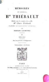 Mémoires du général Bon. Thiébault: Volume4