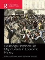 Routledge Handbook of Major Events in Economic History PDF