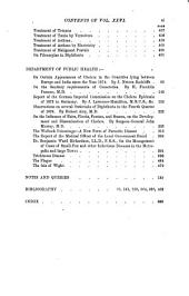 The Practitioner: Volume 26