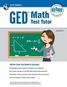 GED   Math Test Tutor  2nd Edition