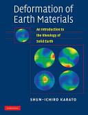 Deformation of Earth Materials PDF
