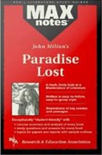 Paradise Lost  MAXNotes Literature Guides  Book