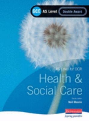Gce Health and Social Care for OCR  as Double Award  PDF