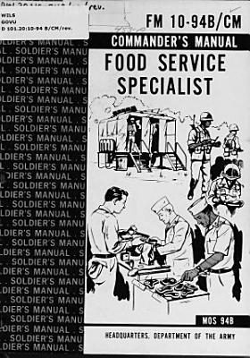 Food Service Specialist PDF