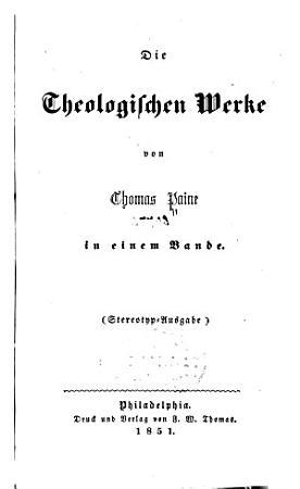Die theologischen werke PDF