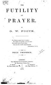 The Futility of Prayer