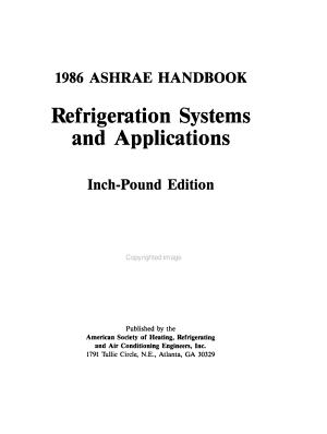 ASHRAE Handbook PDF