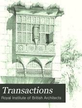 Transactions: Volume 20