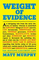 Weight of Evidence PDF