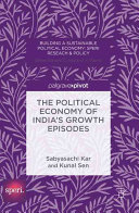The Political Economy of India s Growth Episodes PDF