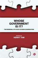 Whose government is it  PDF