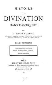 Histoire de la divination dans l'antiquité: Volume2
