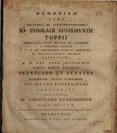 Progr. de vita J. C. S. Toppii, Prof. Helmst