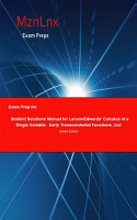 Exam Prep for  Student Solutions Manual for Larson Edwards      PDF