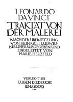 Traktat von der Malerei PDF