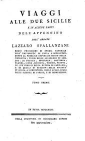 Viaggio Alle Due Sicilie E In Alcune Parti Dell' Appennino: Volume 1