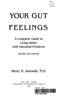 Your Gut Feelings