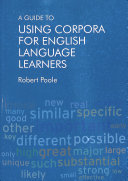 A Guide to Using Corpora for English Language Learners PDF