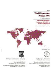 World population profile: Volume 98
