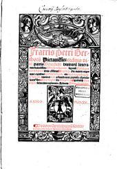 Fratris Petri Berthorij Pictauie[n]sis: ordinis diui patris Benedicti: diuinaru[m] litterarum studiosissimi: Morale reductoriu[m] sup[er] tota[m] Biblia[m]: quattuor et triginta libris co[n]su[m]matu[m] ... Adiectis Biblie co[n]corda[n]tijs. Directoriu[m] precipuaru[m] sententiarum certo indice de novo contextum