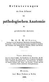 Erläuterungen zu dem Atlasse der pathologischen Anatomie: für praktische Ärzte. ¬Die Krankheiten des Unterleibes : die Krankheiten der Eierstöcke, der Eileiter, des Uterus, der Scheide, der äussern weiblichen Geschlechtstheile (weiblicher Hermaphroditus), des Hodensacks, der Hoden, der Saamen-Behälter und -Gänge, der Prostata, Urethra und des männlichen Gliedes (männlicher Hermaphroditus), Band 4,Ausgabe 2