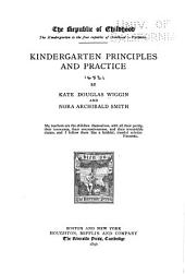 Kindergarten Principles and Practice