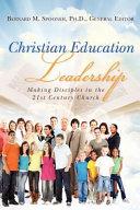 Christian Education Leadership PDF