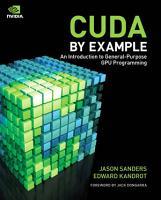 CUDA by Example PDF