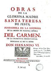 Obras de ... Santa Teresa de Jesus ...