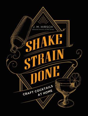 Shake Strain Done