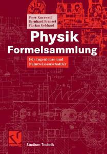 Physik Formelsammlung PDF