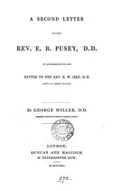 A second letter to the rev. E.B. Pusey ... in reference to his letter [The Articles treated on in Tract 90 reconsidered].