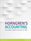 Horngren s Accounting