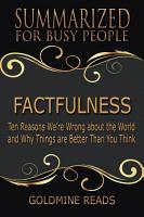 FACTFULNESS   Summarized for Busy People PDF
