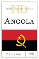 Historical Dictionary of Angola PDF