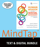 Human Behavior in the Social Environment   Mindtap Social Work  1 Term   6 Months Access Card PDF