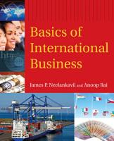 Basics of International Business PDF