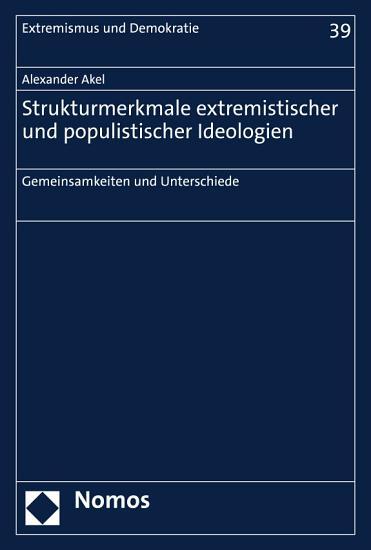 Strukturmerkmale extremistischer und populistischer Ideologien PDF