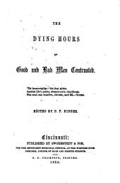 The Dying Hours of Good and Bad Men Contrasted