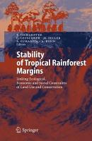 Stability of Tropical Rainforest Margins PDF
