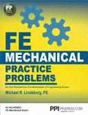 FE Mechanical Practice Problems PDF