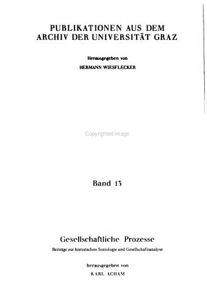 Gesellschaftliche Prozesse PDF