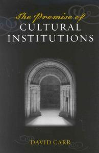 The Promise of Cultural Institutions Book