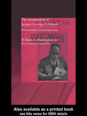 The Assassination of Jacques Lemaigre Dubreuil PDF